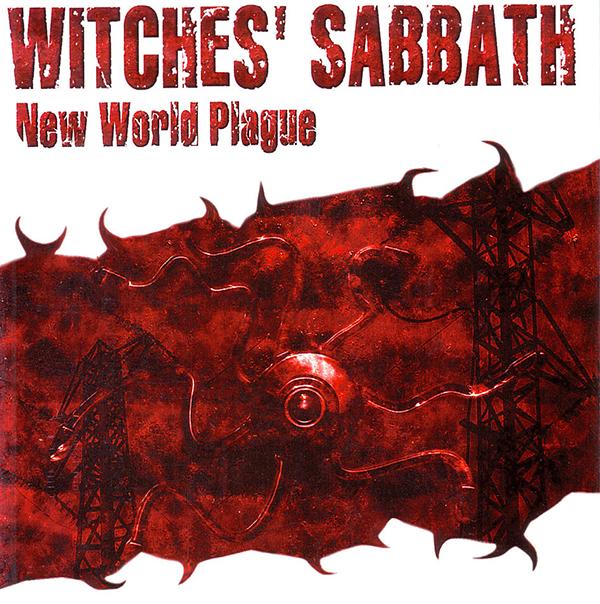"""WITCHES' SABBATH """"New World Plague"""" (NECRO CD 002)"""